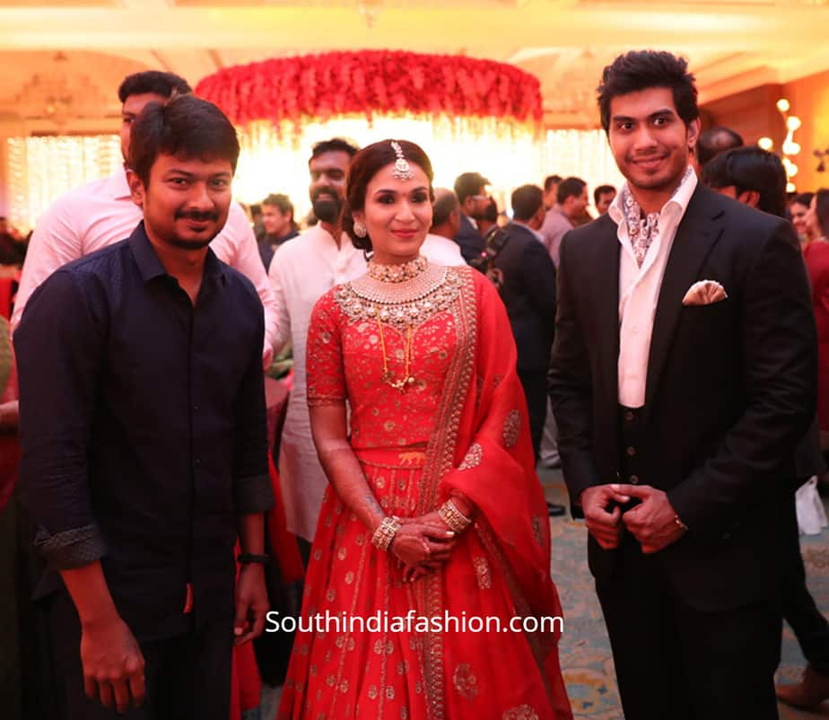 soundarya vishagan wedding reception