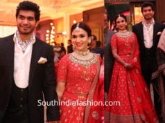soundarya rajinikanth vishagan wedding reception photos