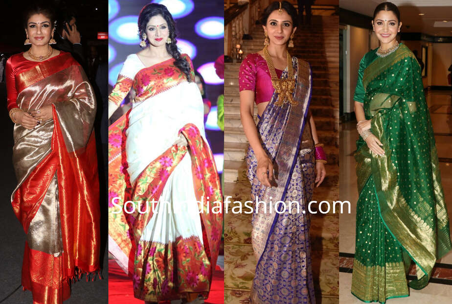 types of silk sarees every woman must have