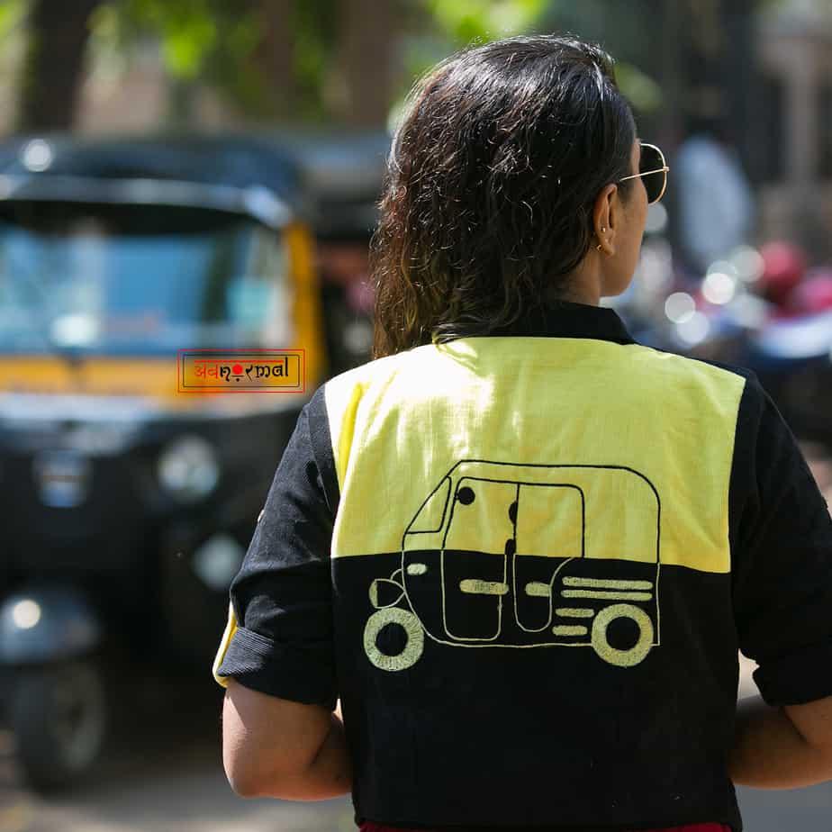 auto riksha blouse design