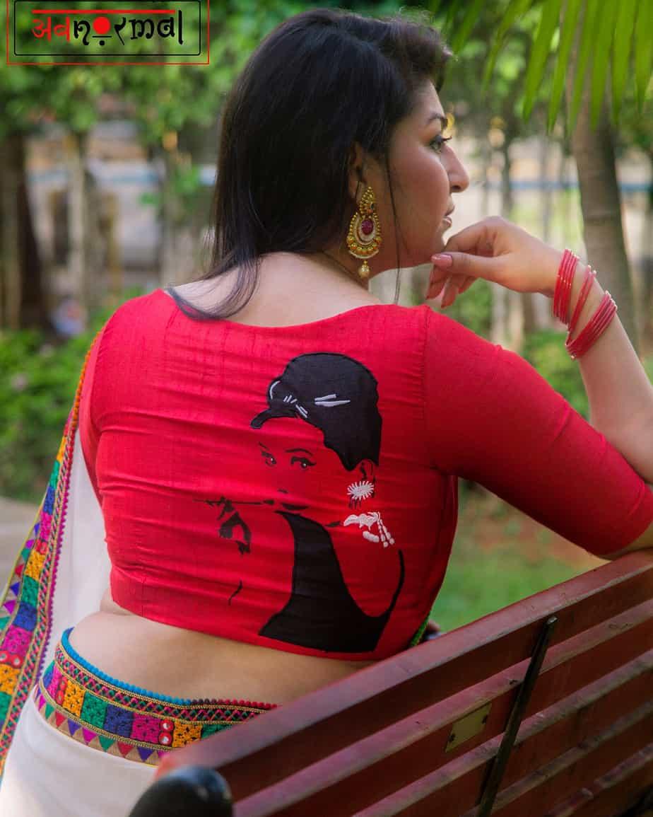 audrey hepburn blouse design