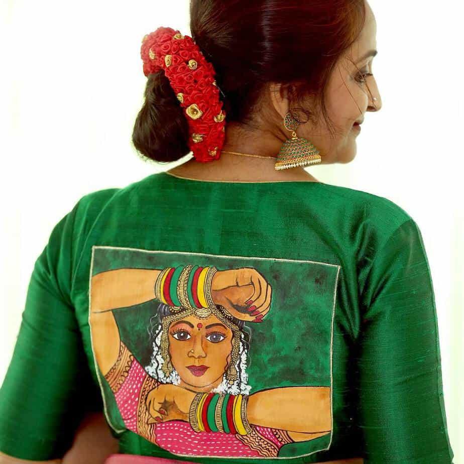 Sridevi blouse design