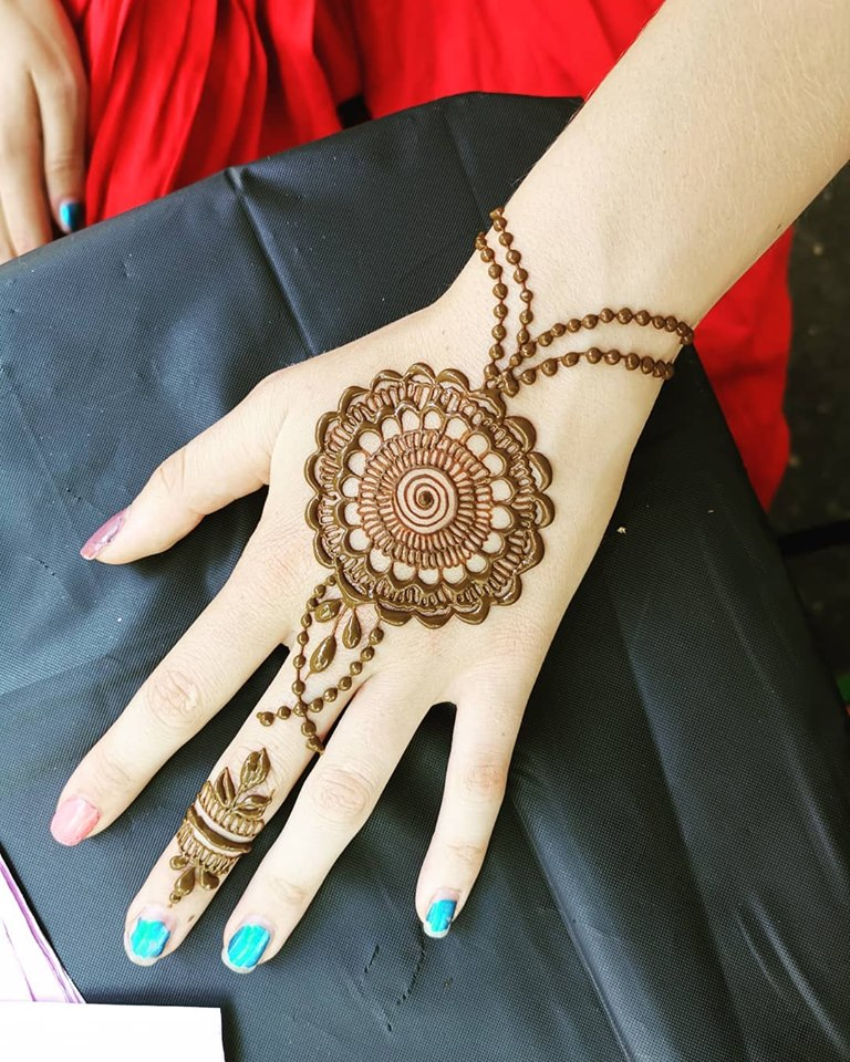 50 Easy And Simple Mehndi Designs For Beginners Step By Step!