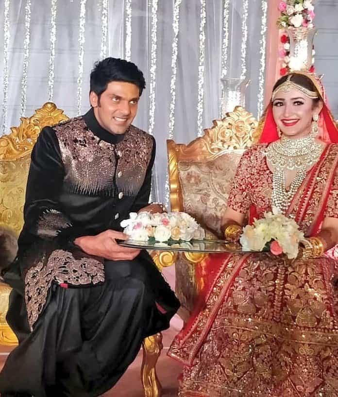 arya marriage pics