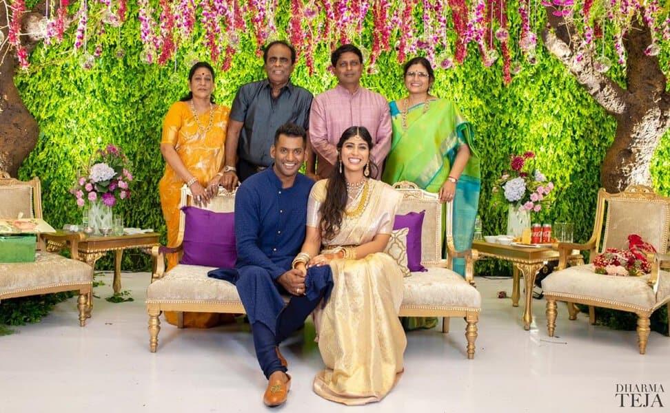 vishal engagement photos