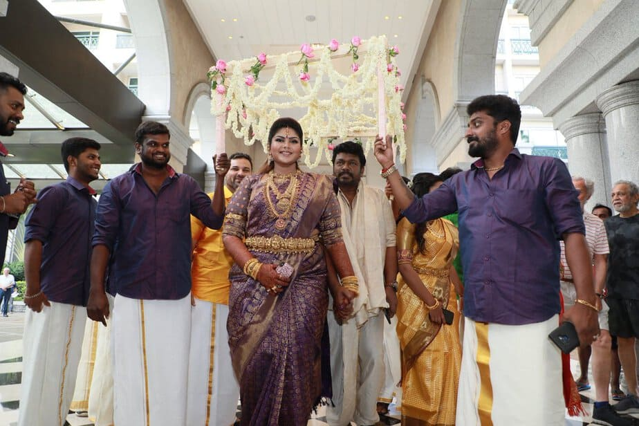 Parthiban and Seeta's Daughter Abhinaya's Wedding