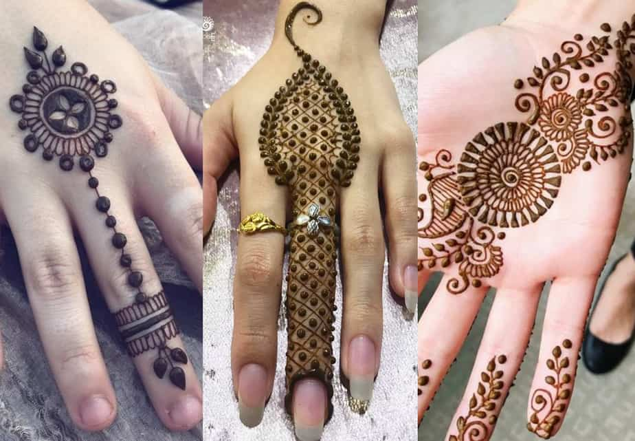 back hand mehndi design easy and simple for kids