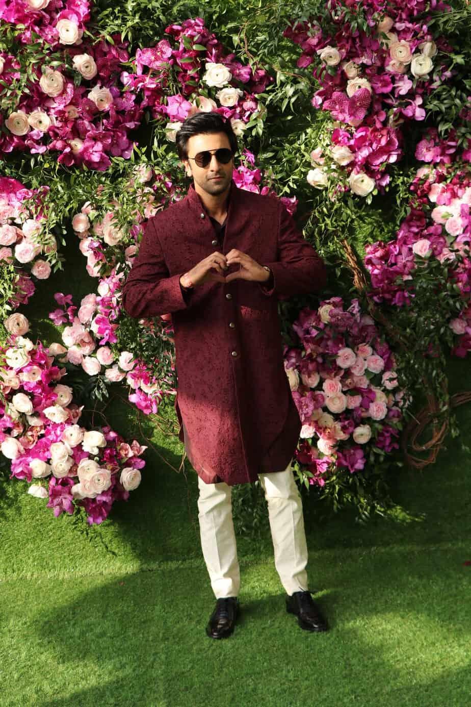 Ranbeer Kapoor at akash ambani wedding