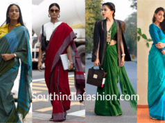 Office Wear professional Saree look