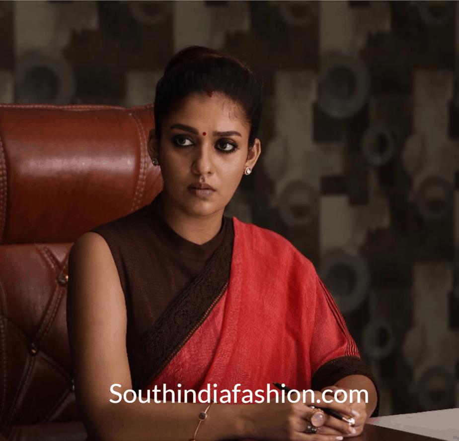 Nayanthara's Costumes in Viswasam – Fashion Goals