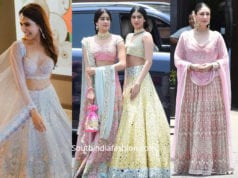 PASTEL LEHENGAS FOR SUMMER WEDDINGS