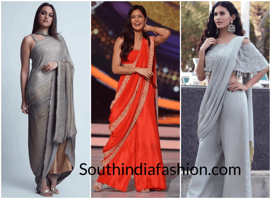 All you need to know about wearing a Pant-style Saree