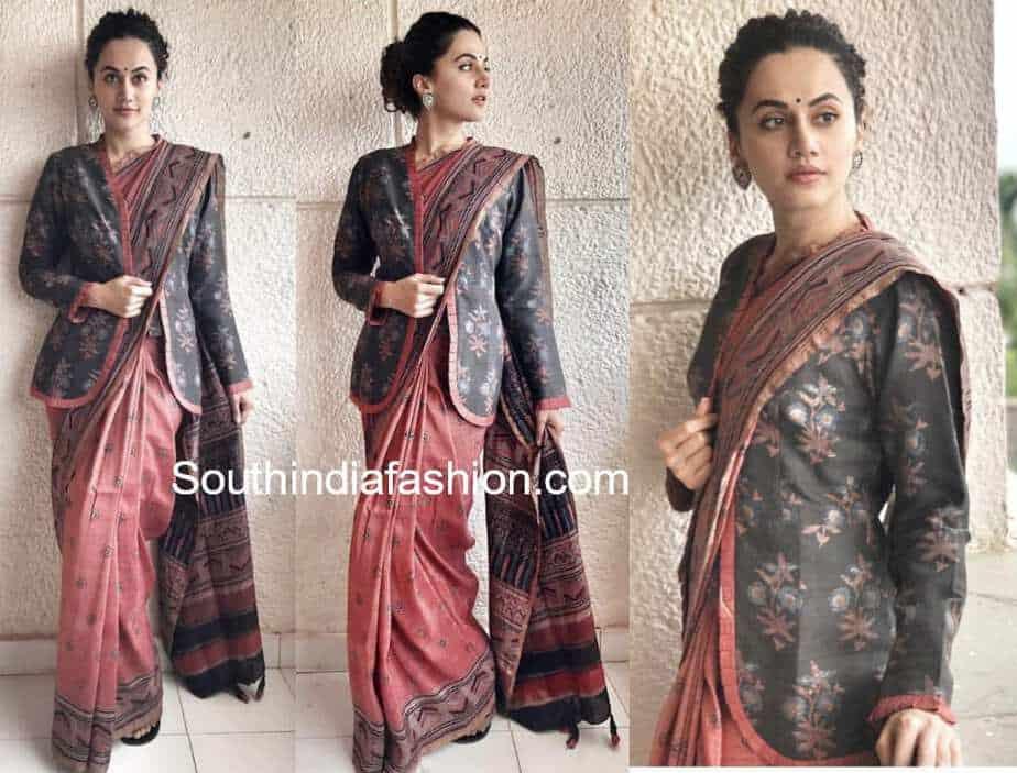 Saree with a Jacket - Bollywood Divas' Latest Saree Trend