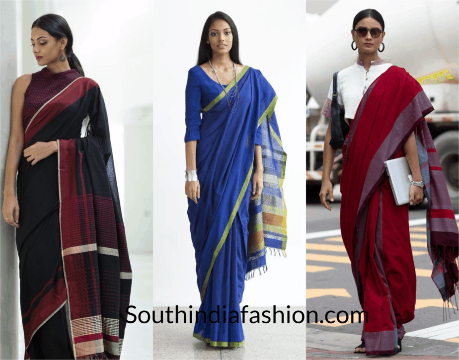Nail the Office Wear Saree Look with Ease and Style