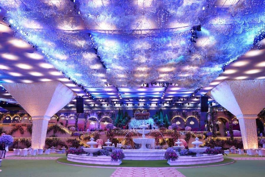 akash ambani wedding decor