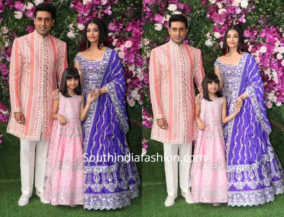 abhishke aishwarya at akash ambani wedding