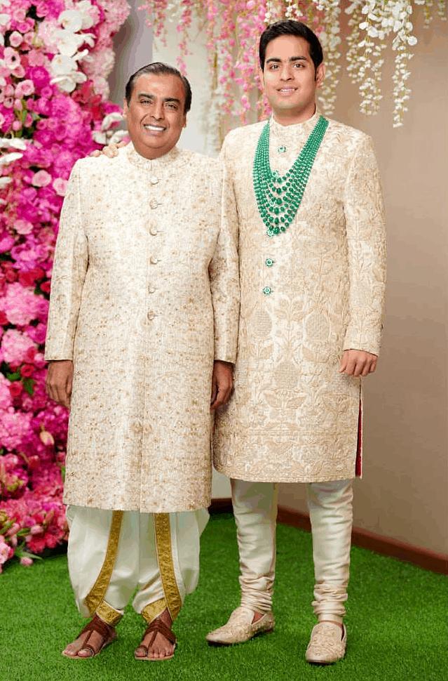 akash ambani wedding photos