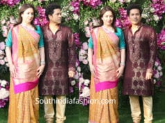 sachin tendulkar and anjali at akash ambani wedding