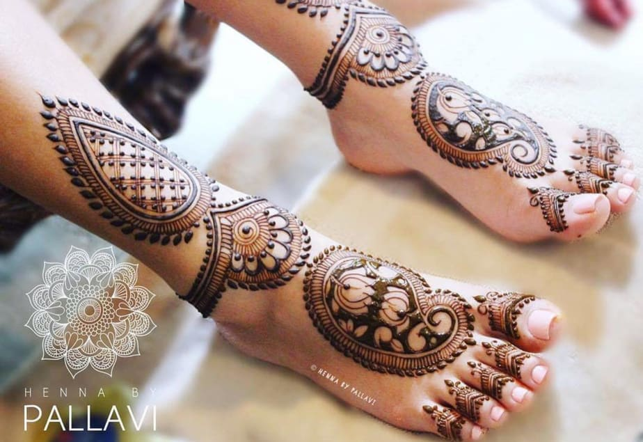 30 mind blowing leg and foot mehndi designs for brides
