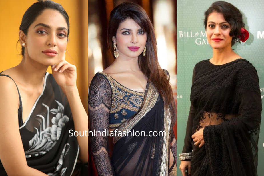 Best Lipstick for Black Saree