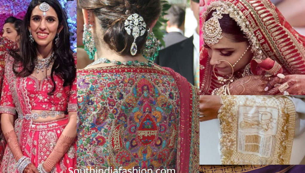 customized indian bridal wear