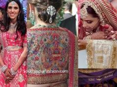 customized indian bridal wear