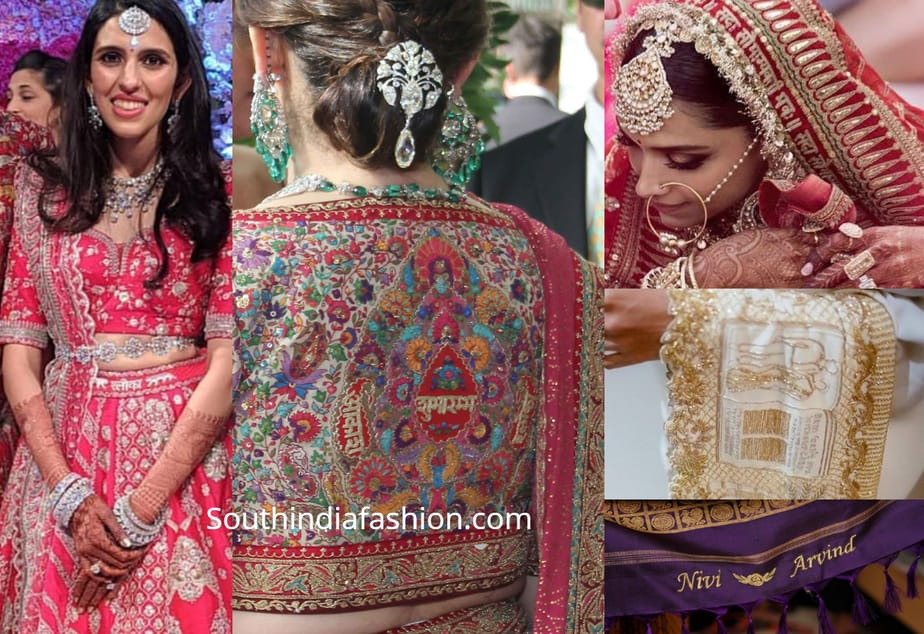 Customized Indian Bridal Wear With Personalized Embroidery