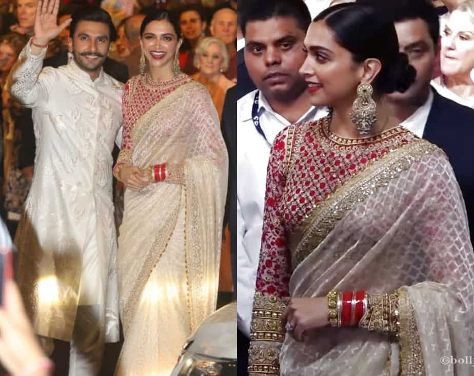 deepika saree at isha ambani wedding 2019