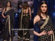 diana penty black saree delhi fashion week 2019