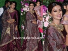 geeta basra lehenga at akash ambani wedding