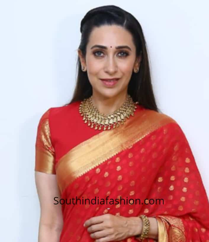 latest celebrity saree blouse designs 2019