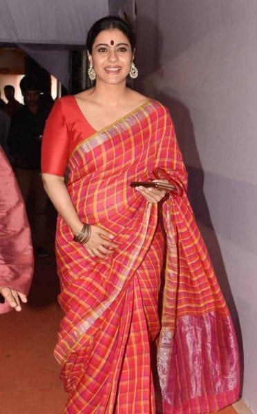 how to look slim in sarees