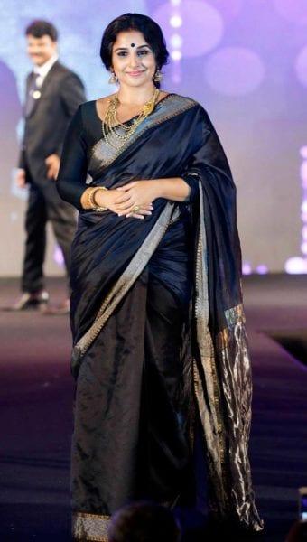 how to drape saree to look slim