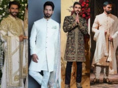 indian groom dresses for enagement and reception