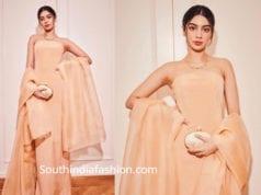 khushi kapoor dress akash ambani pre wedding