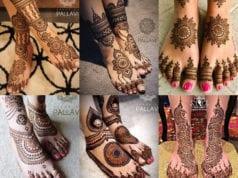 bridal mehndi designs for legs and feet