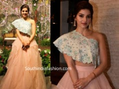 mhereen at venkatesh daughter reception