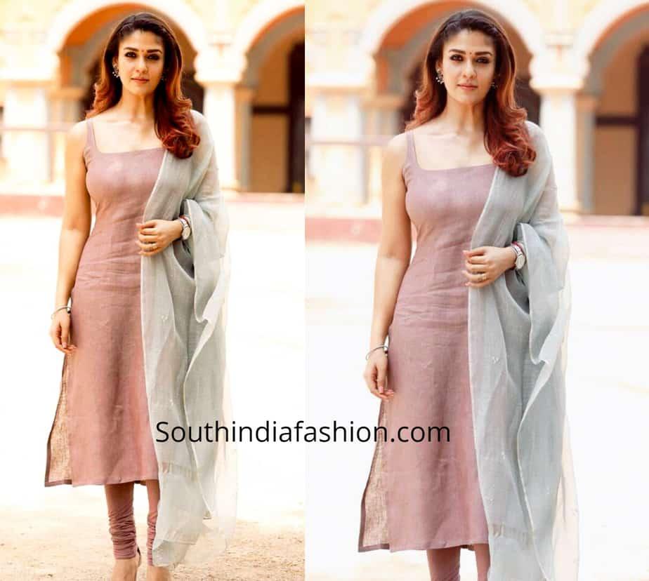 nayanthara dresses in visvasam