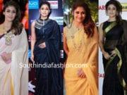 nayanthara sarees