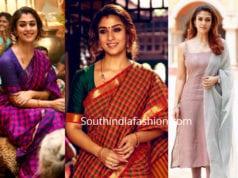 nayanthara costumes in visvasam