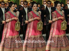 nita ambani lehenga at akash ambani wedding