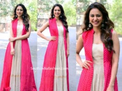 rakul preet singh jacket dress at athiloka sundari book launch