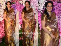 rashmi thackeray in kanjivaram saree at akash ambani wedding