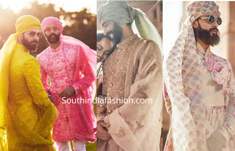 sabyasachi groom collection 2019