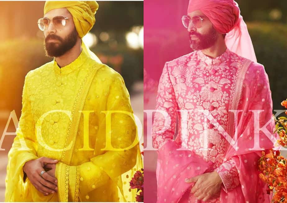 sabyasachi men collection 2019