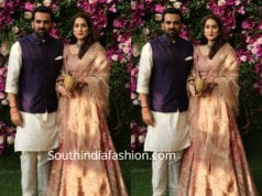 sagarika and zaheer khan at akash ambani wedding