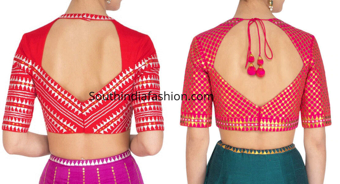 blouse neck designs 2019