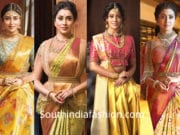 shriya saran in vrk silks sarees and designer blouses
