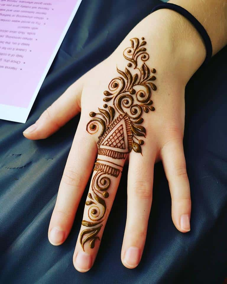 50 Easy And Simple Mehndi Designs For Beginners Step By Step