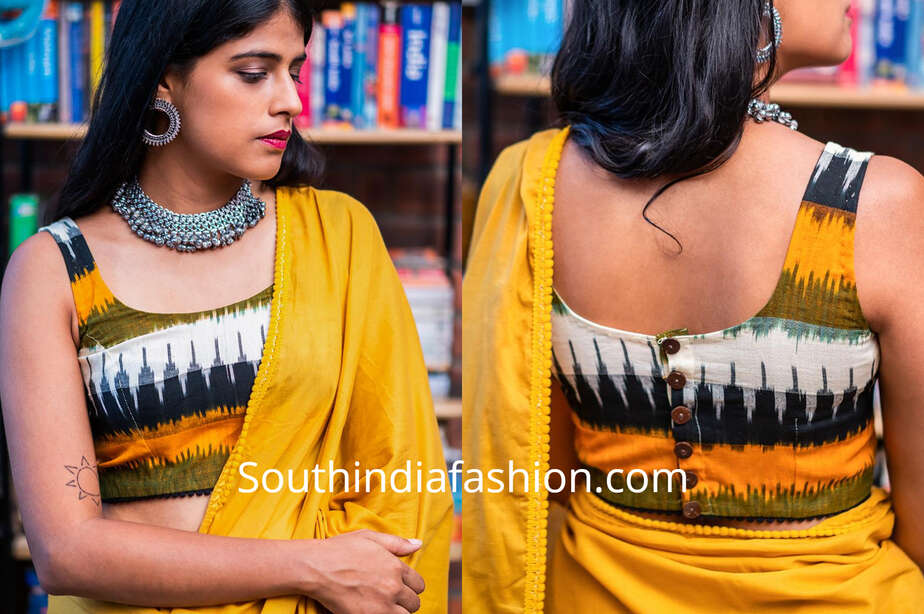 blouse designs for cotton sarees